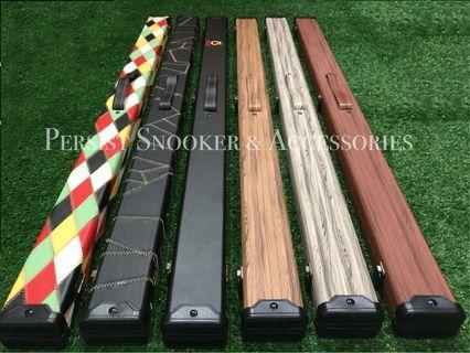 Q3/4 Piece Leather Cue Case