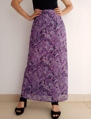 Thrift Purple Skirt / Rok vintage