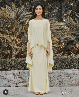 Qiszar Anna Grace in Soft Yellow
