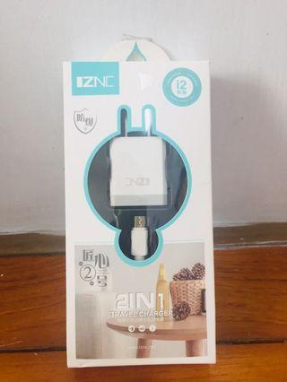 (聰的賣場)2in1 手機充電組