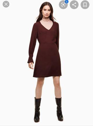 Aritzia Wilfred Corinne Dress