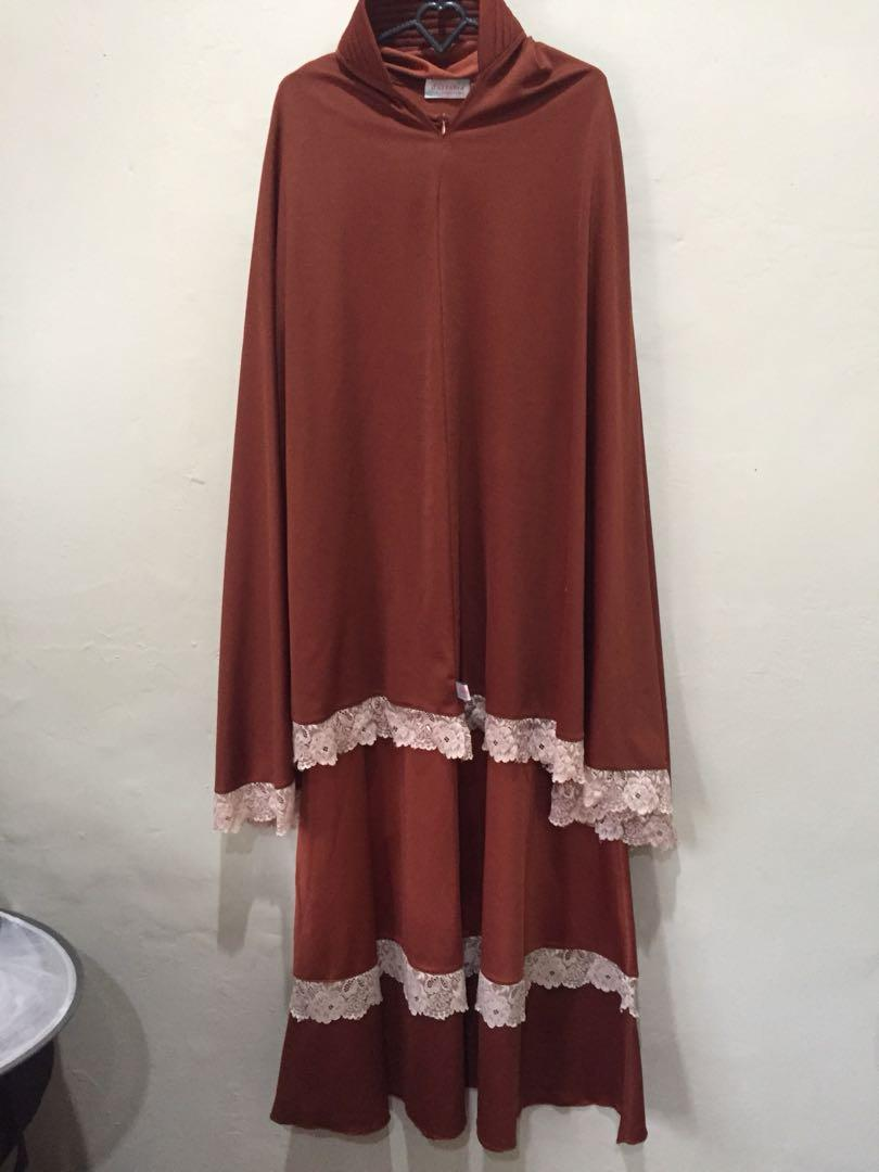 #1111special Gamis set khimar by d'azzahra
