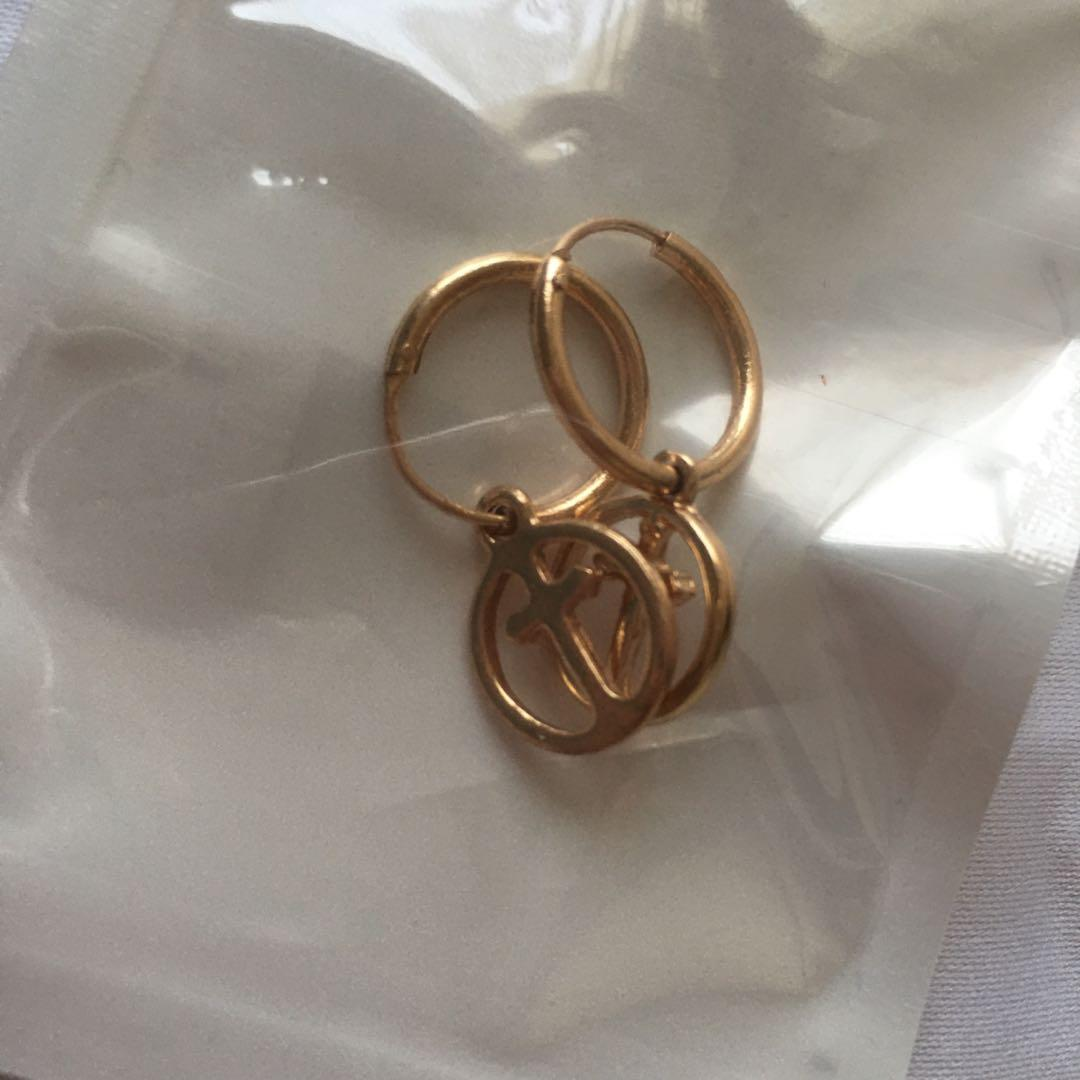 #1111special Gold Earrings