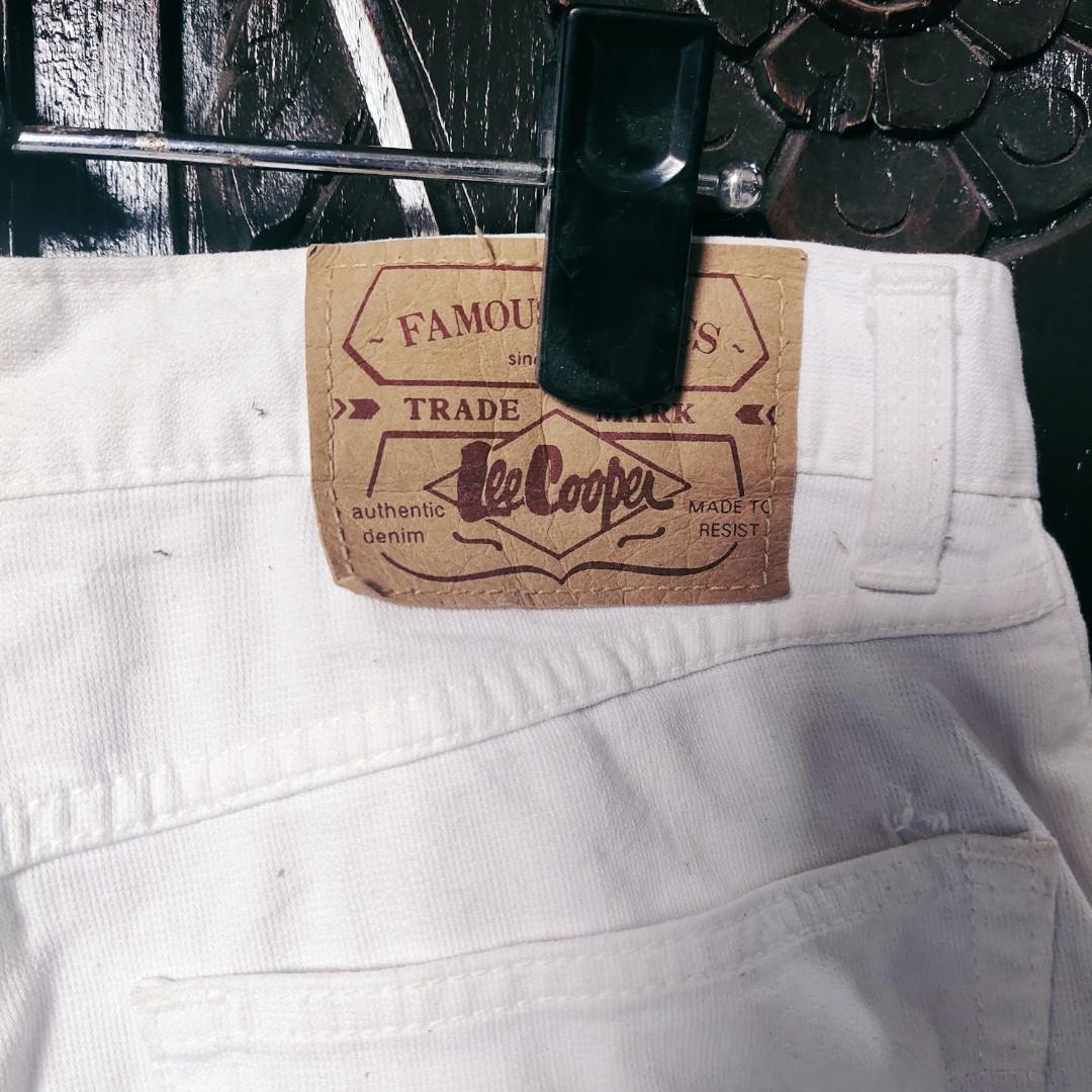#1111special Preloved White Hotpants