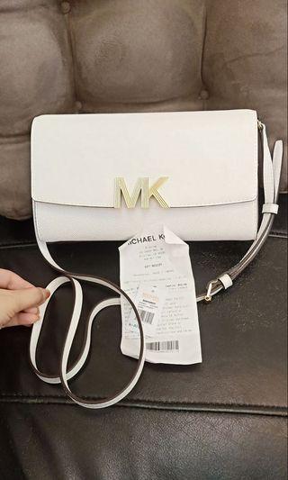 Mk可以放長夾斜背包