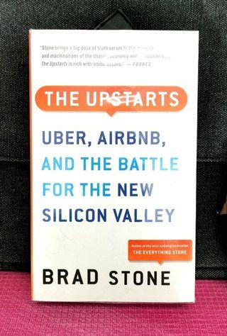 《Preloved Good Condition + A Look Deep Inside The New Silicon Valley Powerful Startups & Sharing Economy》Brad Stone - THE UPSTARTS : How Uber, Airbnb And The Killer Companies of The New Silicon Valley Are Changing The World