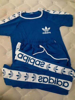 2in1 Adidas top+pants