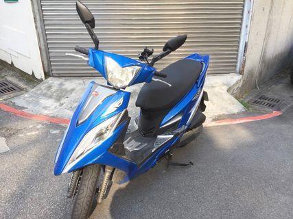 【寄賣】2014年光陽G6 150CC噴射版(藍)