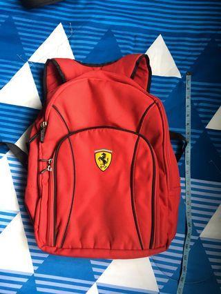 Authentic Ferrari bag pack
