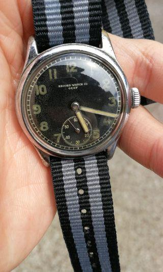 Record Vintage WWII watch