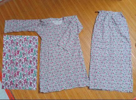 3 helai RM50 Baju Kurung Cotton