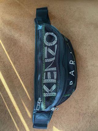 KENZO Bumbag Mesh in Black