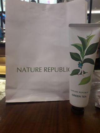 Nature republic hand cream