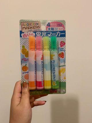 四色螢光筆