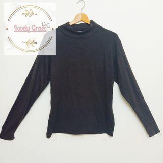 Turtleneck longsleeve sweater shirt