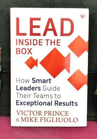 《BRAN-NEW PAPERBACK + Effective Guide For Managing Most Precious Resource Leaders Have : TIME AND ENERGY》Victor Prince & Mike Fihliuolo - LEAD INSIDE THE BOX : How Smart Leaders Guide Their Teams to Exceptional Results