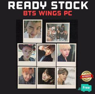 BTS OFFICIAL WINGS PHOTOCARD