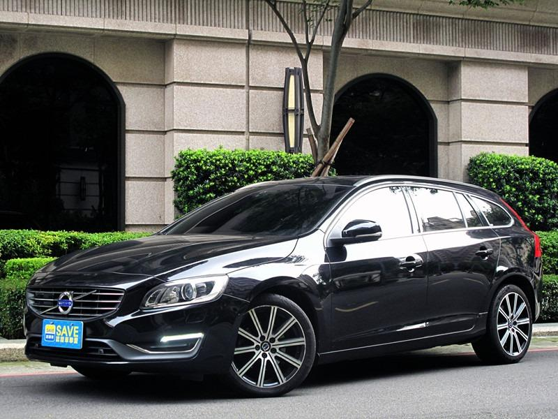 2014 VOLVO V60 旗艦版 柴油 2.0 全車原鈑 小改款8速 天窗 盲點 柴油渦輪扭力 #40.8kgm