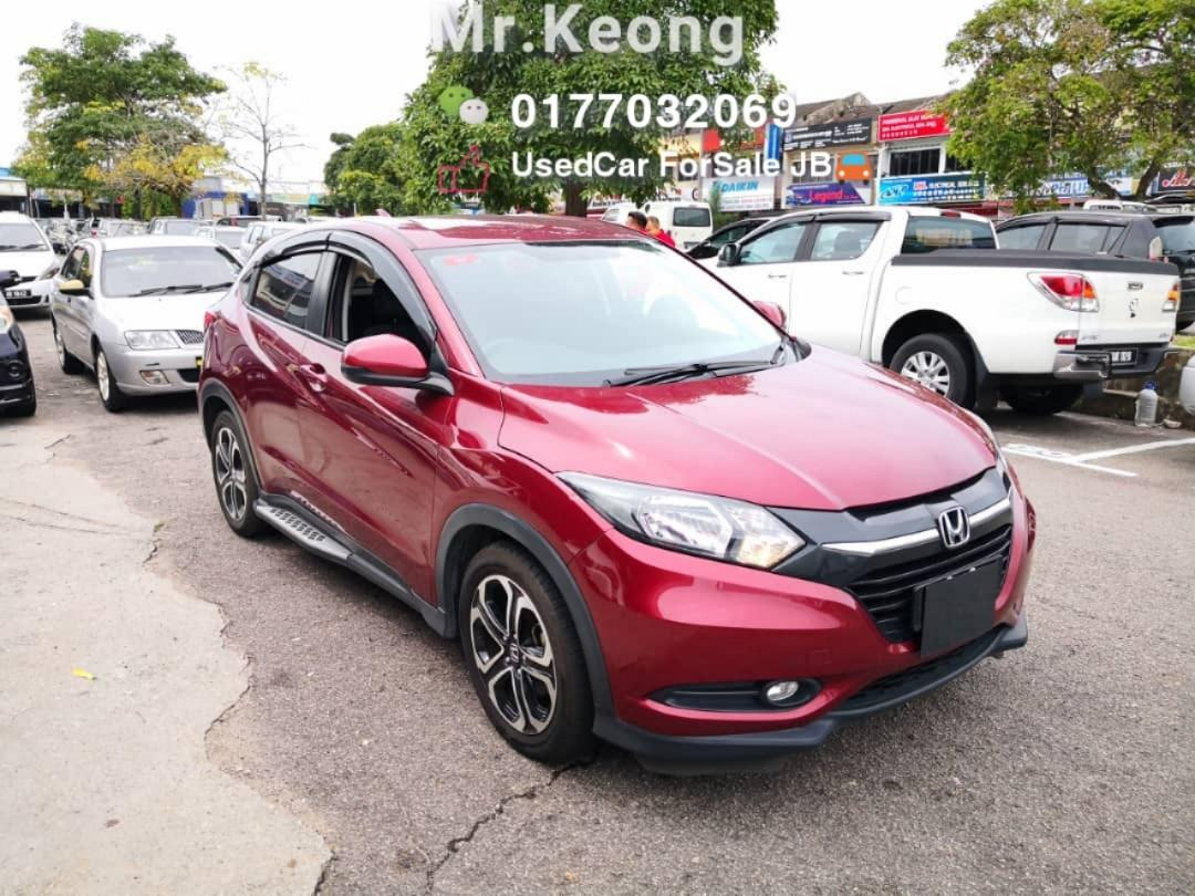 2016TH🚘HONDA HRV 1.8AT E ENHANCED SPEC Cash OfferPrice💲Rm69,800 Only‼Can Full Loan🚘 LowestPrice InJB🎉Call📲 KeongForMore‼🤗