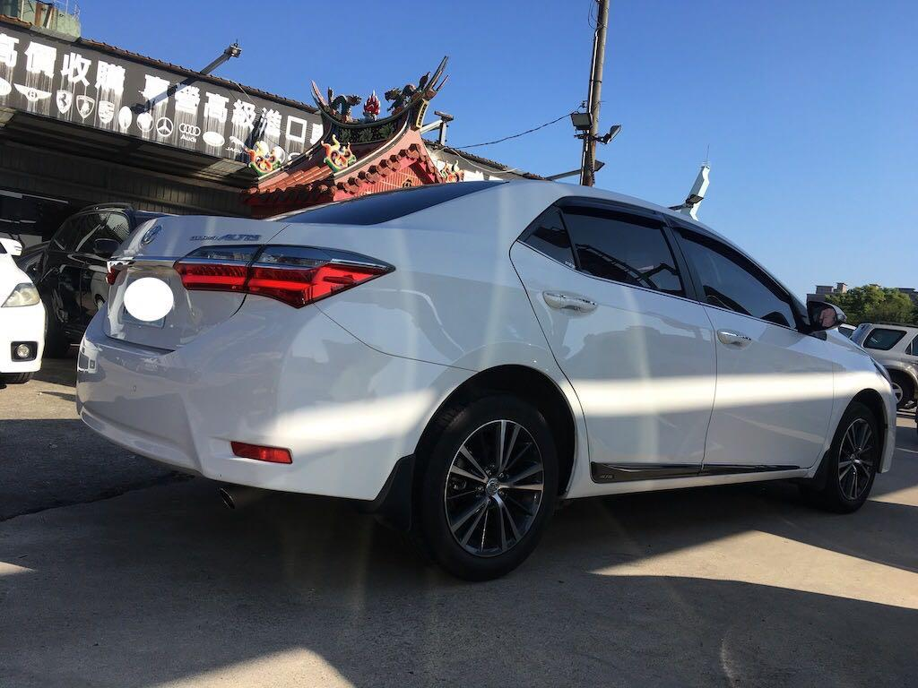 2018 Toyota Corolla Altis 1.8豪華版