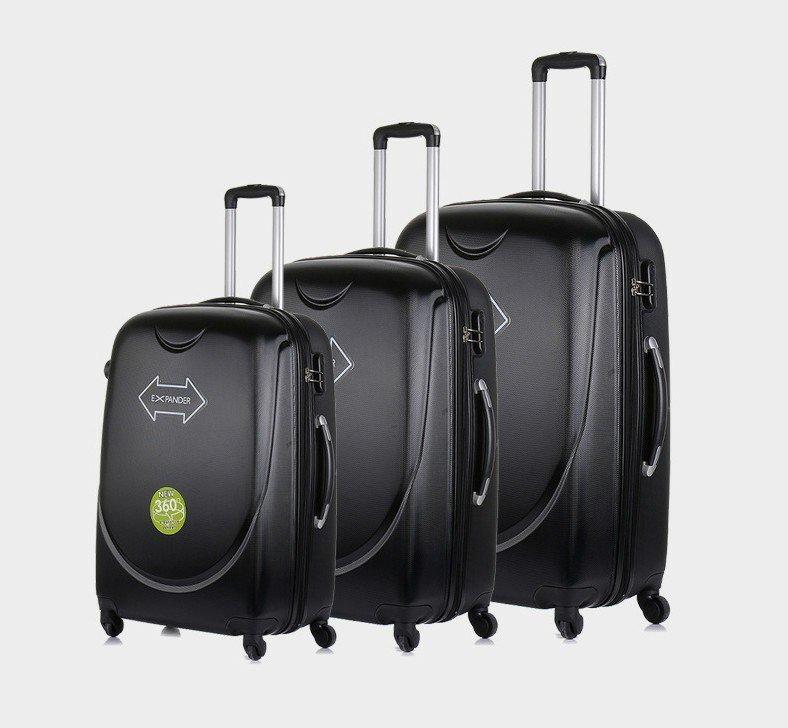 20/24/28inch Black Blue Suitcase