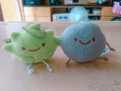 San-x 角落生物 小草 灰塵 吊飾 掛飾 娃娃 玩偶 玩具
