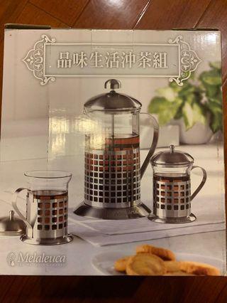 美樂家生活沖茶組800cc 茶壺*1茶杯*2
