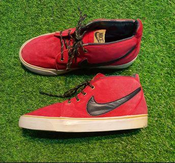 NIKE TOKI Suede Cloth Sneakers