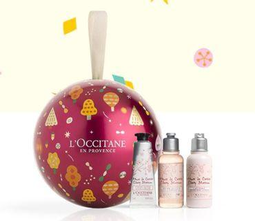 L'OCCITANE Christmas Set (Pre-Order from Europe - Delivery on Jan 2020)