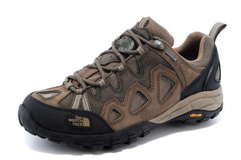The North Face低邦戶外登山鞋 內里GORE-TEX防水北臉徒步鞋 北面涉水鞋 頭層牛皮鞋健行鞋 戶外運動鞋