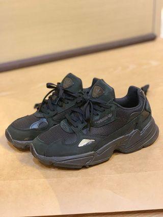 adidas Falcon 愛迪達 黑魂 復古 老爹鞋 增高鞋 9成新