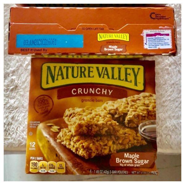2 x Nature Valley Granola Bar - Maple Sugar 6s x 42g