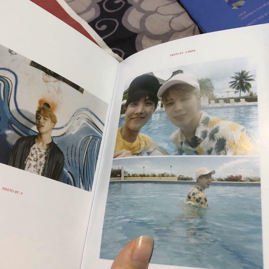 [3 FOR RM30] BTS UNOFFICIAL 2018 SAIPAN MAKNAE LIFE SELFIE BOOK