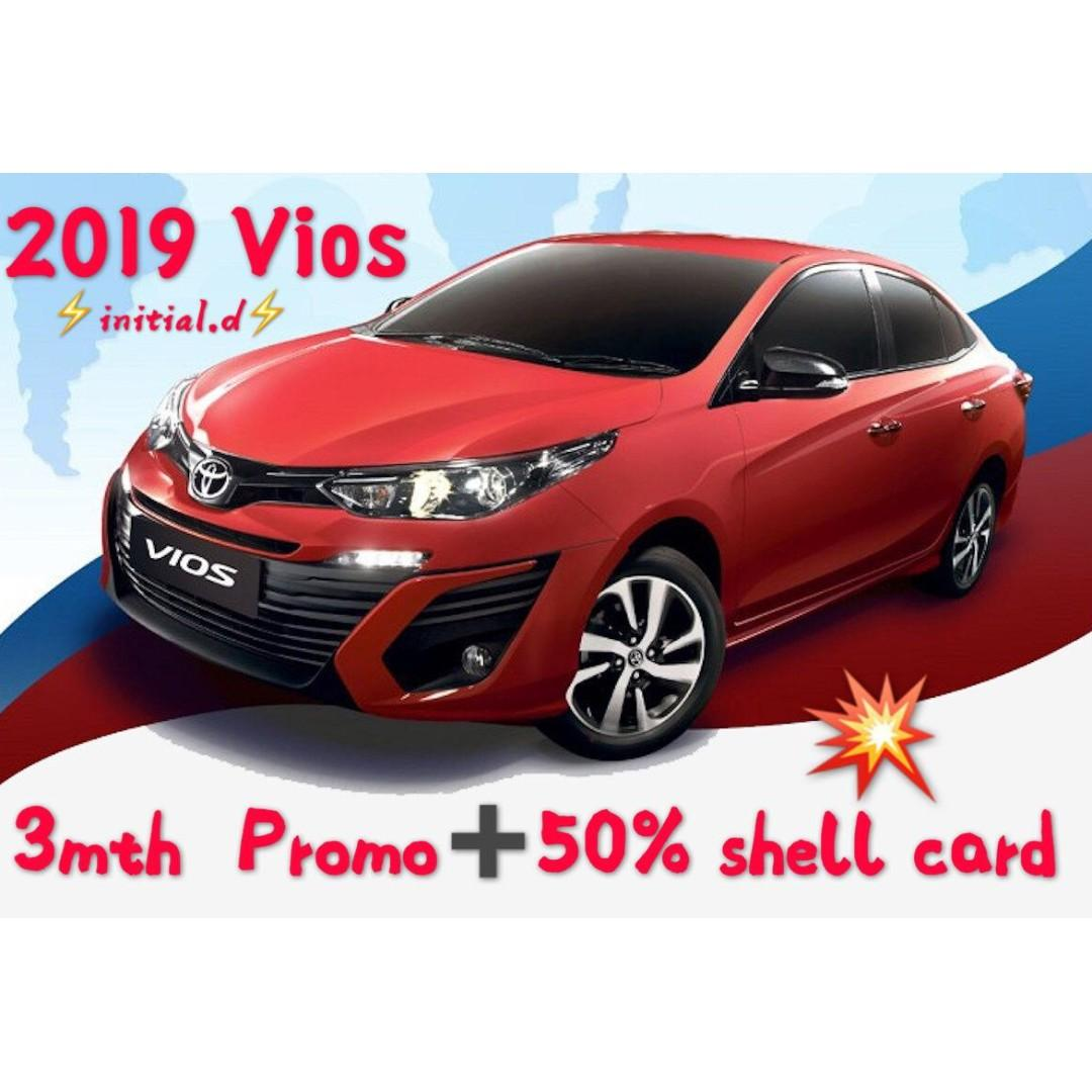 🔥🔥 NEW VIOS + FREE $3800 PETROL CHRISTMAS PROMOTION / 18 DAYS FREE RENTAL