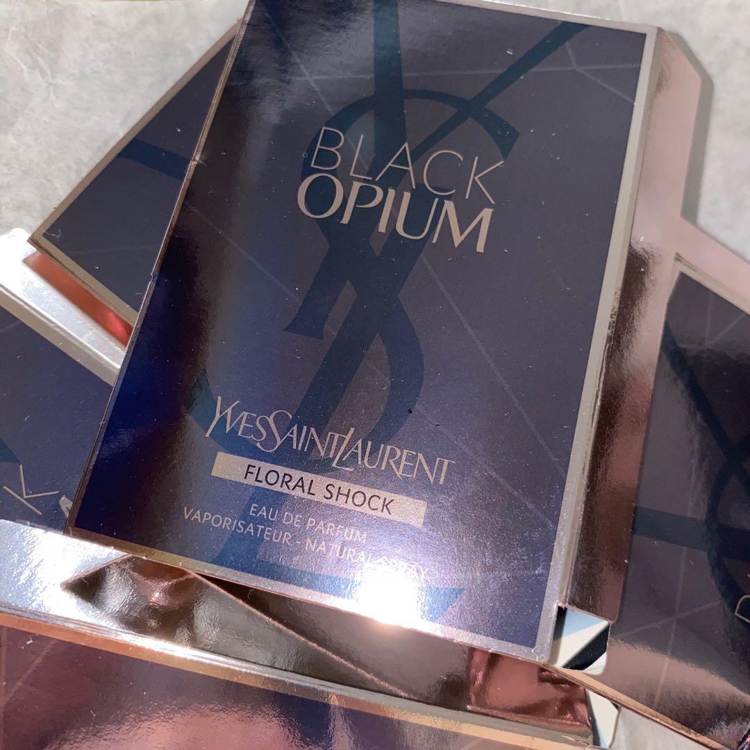 6枝 YSL Black Opium Floral Shock Eau de Parfum 香水 perfume