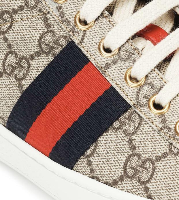 英國代購 GUCCI Ace GG Supreme sneakers EU34-EU42