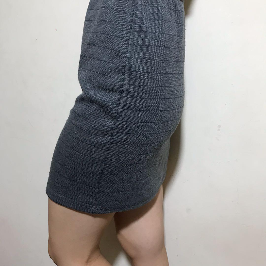 aland深灰窄裙