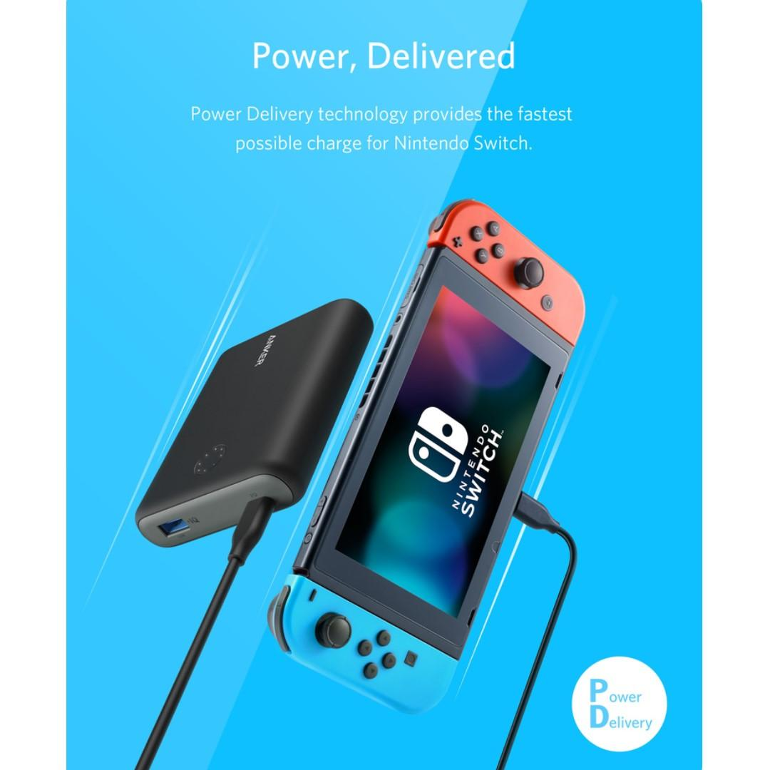 Anker Powercore 13400 (Nintendo Switch Edition) - Sealed set