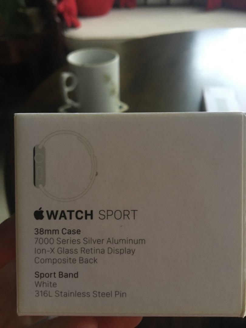 Apple Watch 38mm sport series 1