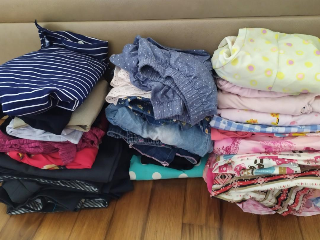 Blessings: Men, women and girl's clothes to give away