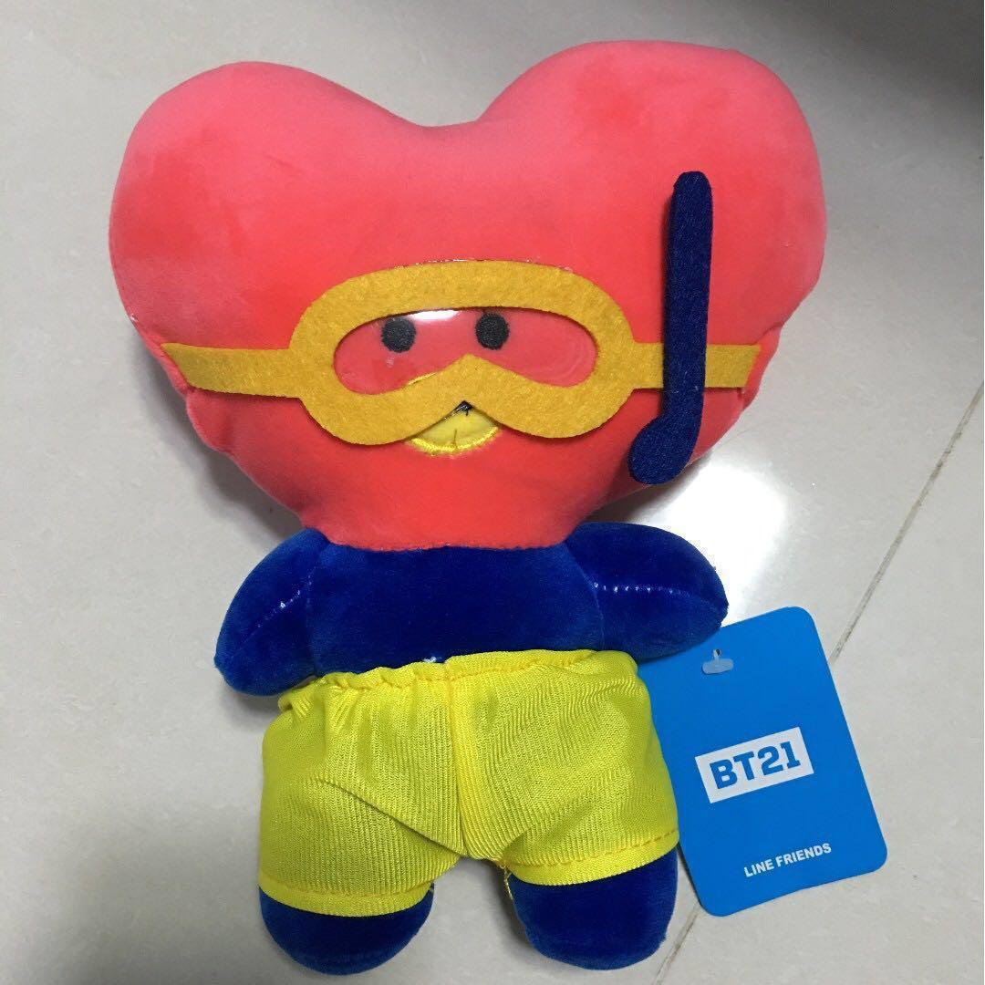BTS - Bt21 plush! SUMMER COLLECTION! PROMOTION HAPPENING! LAST DAY LAST OFFER LAST CHANCE! Will be taken down on 19/11/19.🔥🔥🔥! WILL NOT BE SOLD ANYMORE AFTER THAT. 9 OF THIS ARE ALREADY SOLD OR RESERVED! CHEAPEST ON CAROUSELL!