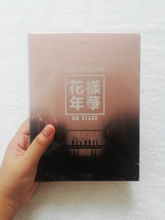 BTS HYYH ON STAGE 2015 DVD WITHOUT PC (PLEASE REFER PICTURES TO SEE THE CONDITION)