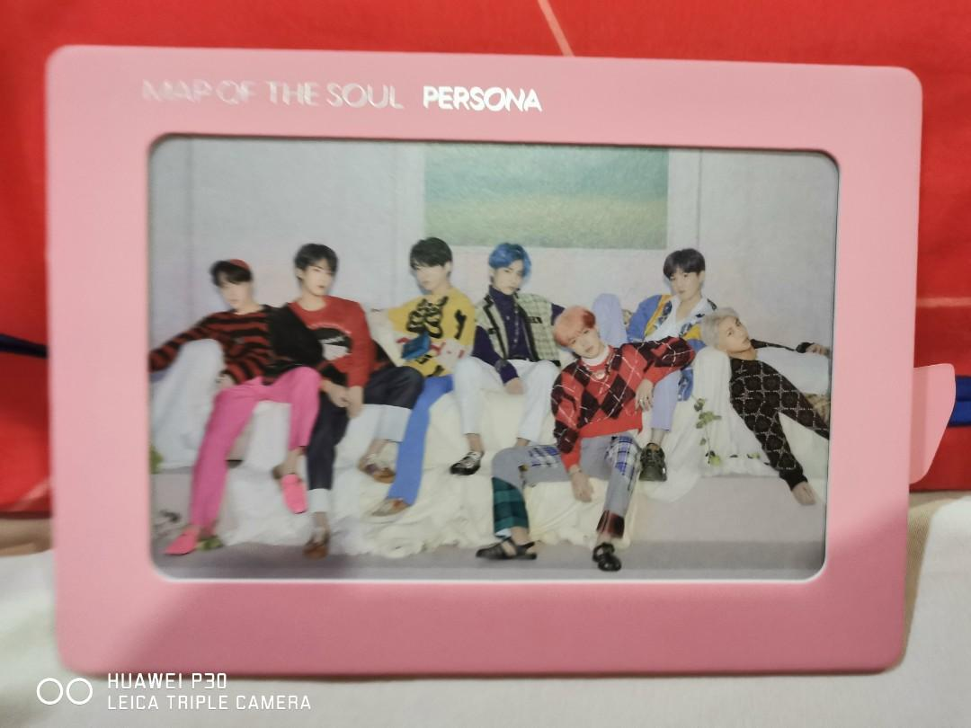 BTS Map of the Soul Persona Photo Frame Version 3 & 4 (official)