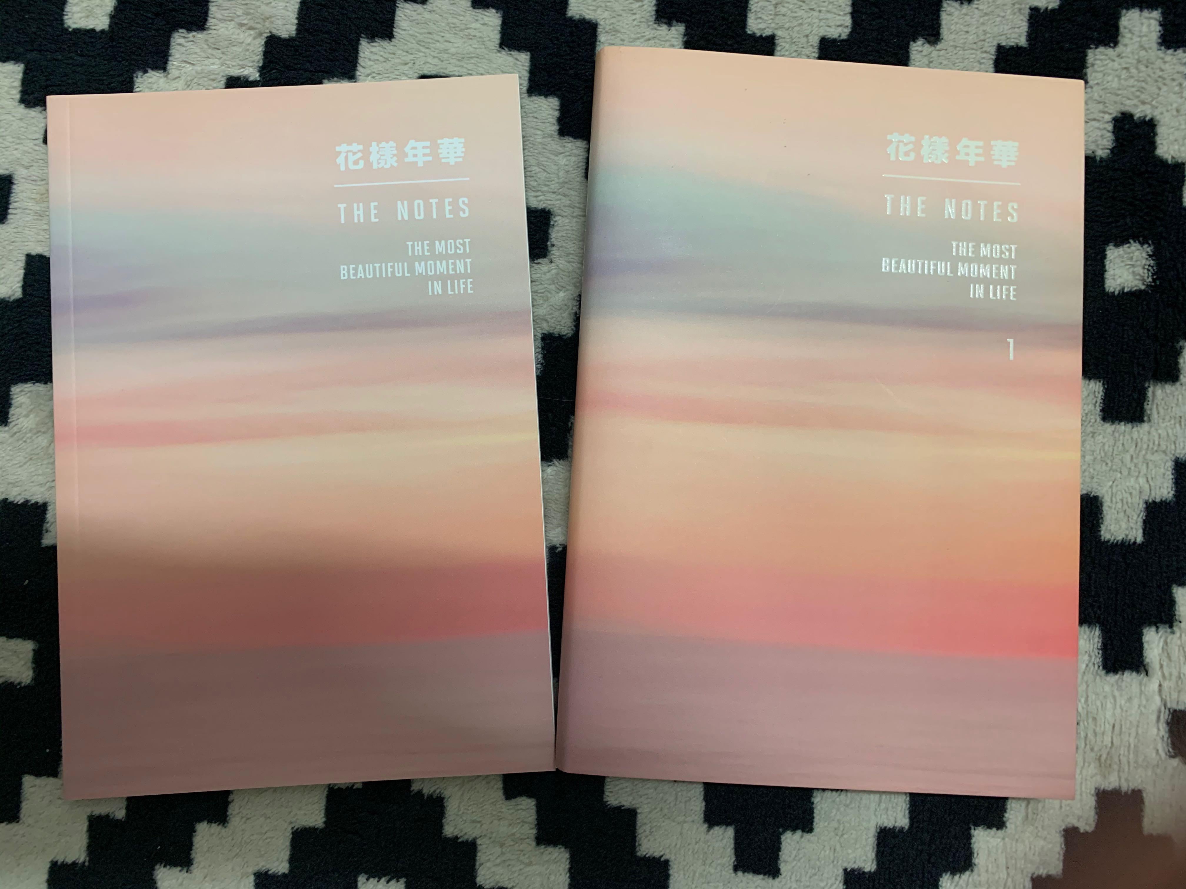BTS The Notes (English Ver.) + notebook #morecoins