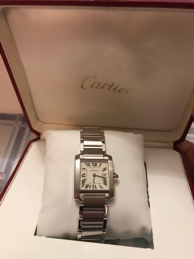 Cartier , Tank Francaise Medium size