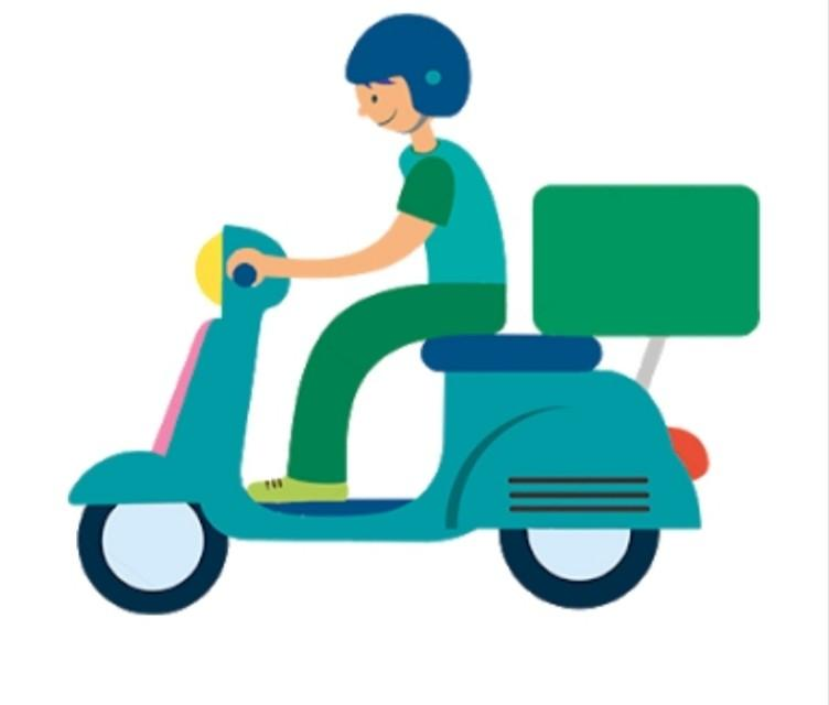 Delivery rider - part time