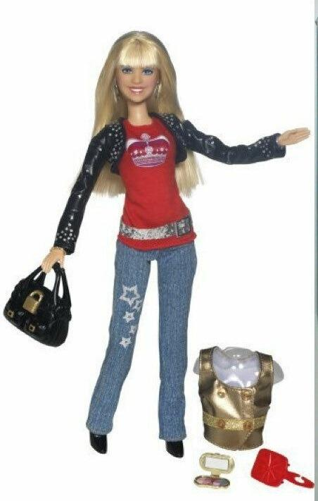 Disney Hanna Montana Fashion Moves Rare Dancing Doll