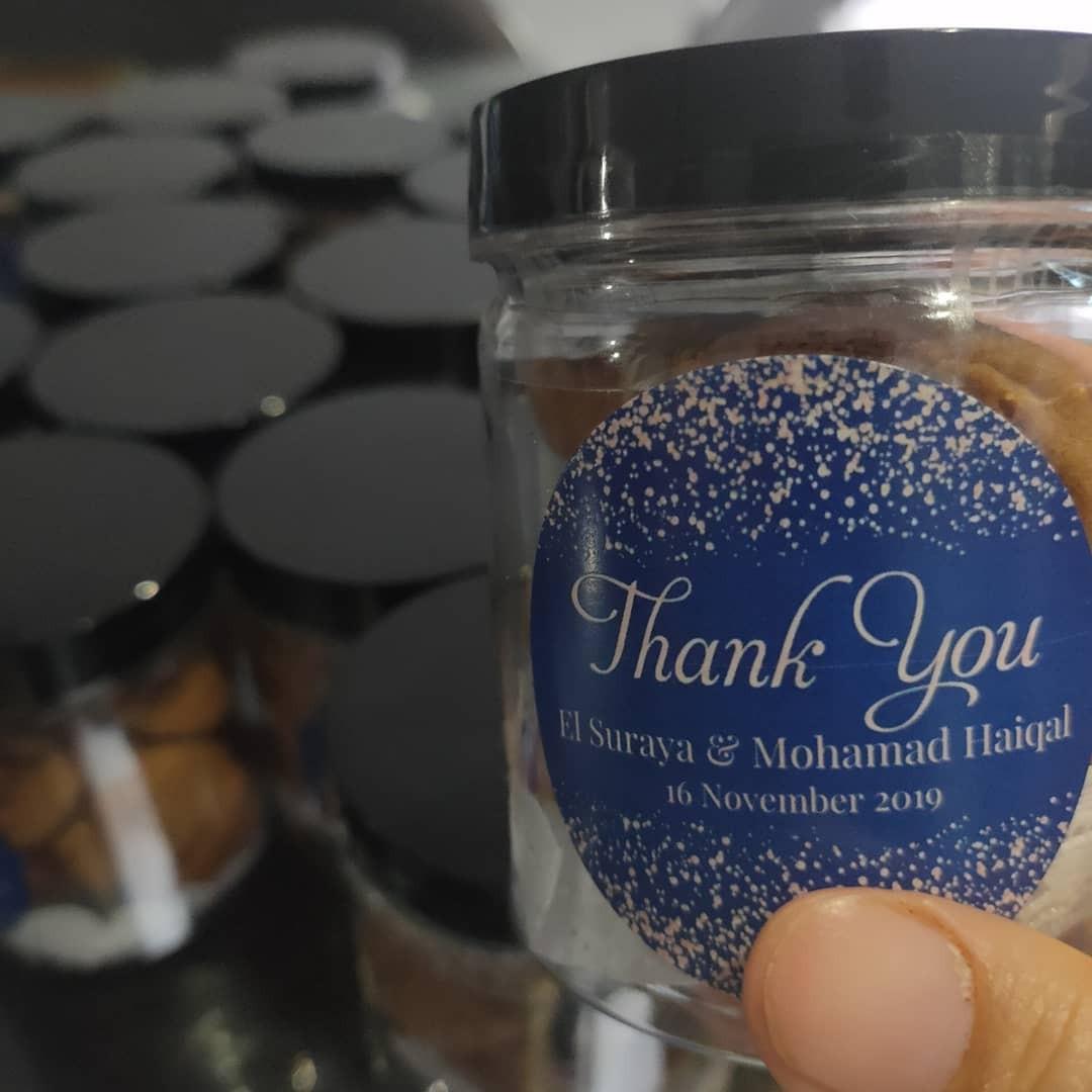 Door gift / Berkat Chocolate Chip