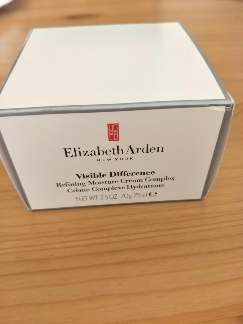 Elizabeth Arden visible difference moisture cream.