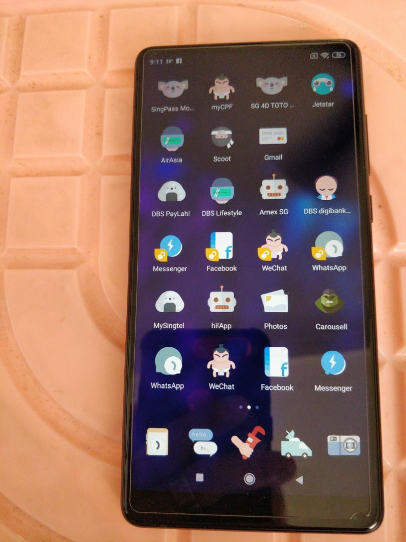 Excellent condition Xiaomi Mix2.6/64.
